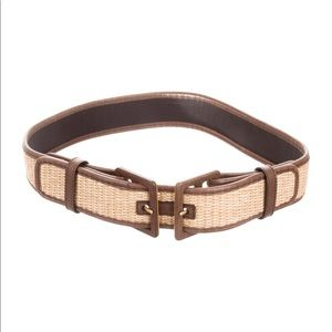 Woven Yves Saint Laurent Belt